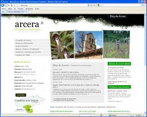 Página web Arcera